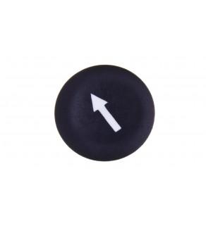 Wkładka do przycisku 22mm płaska czarna do ZB5-AA0 STRZALKA ZBA335