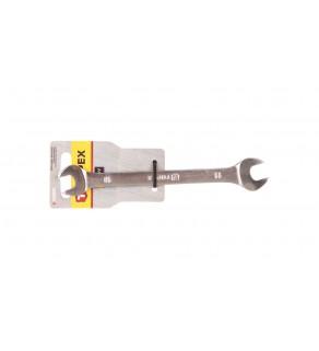 Klucz płaski dwustronny 10 x 11 mm stal CrV 35D605