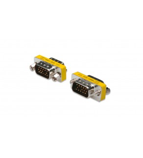 Adapter VGA 1:1 Typ DSUB15/DSUB15, M/M AK-610511-000-I