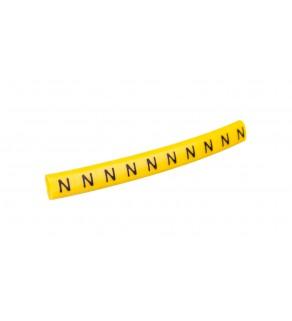 Oznacznik przewodów OZ-0/N żółty E04ZP-01020103600 /100szt.