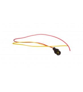 Lampka sygnalizacyjna 5mm żółta 12-24V AC/DC KLP 5Y/24V 84405004