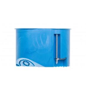 Puszka 2x 65mm p/t regips 45mm niebieski P 2x32 32023203