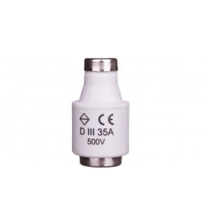 Wkładka bezpiecznikowa 35A DIII gF 500V LE33F35