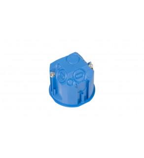 Puszka podtynkowa 60mm regips głęboka niebieska PV 60D 32013203