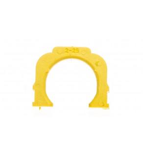 Pierścień dopasowujący 25A D02 żółty MGN09125