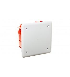 Install-Box Puszka podtynkowa instalacyjna 95x95x50mm IP40 biała 0261-01
