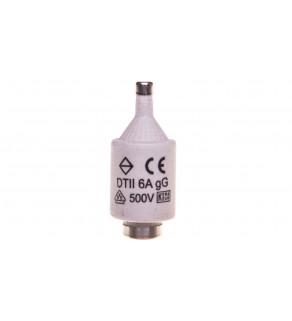 Wkładka bezpiecznikowa 6A DII gG 500V DII/BIWTZ/6A/E27/400V LE2706