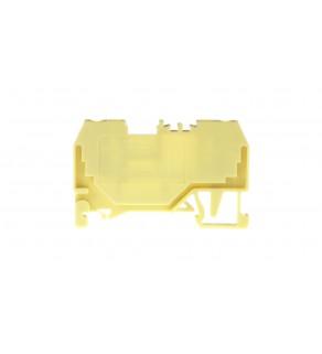Złączka szynowa 2-przewodowa 2,5mm2 żółta 280-906