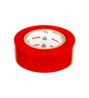Taśma izolacyjna 128 0.15-19-10 PVC czerwona 145812