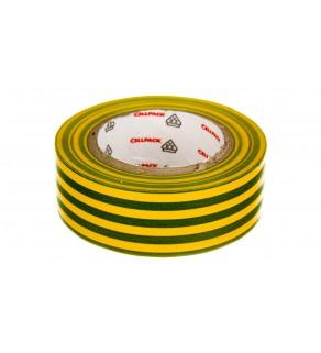 Taśma izolacyjna 128 0.15-19-10 PVC zółto-zielona 145808