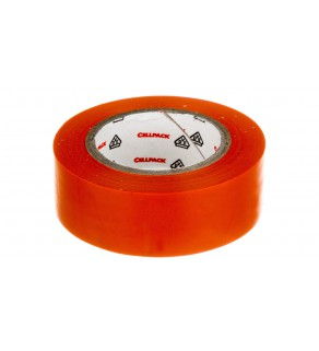 Taśma izolacyjna 128 0.15-19-10 PVC pomarańczowa 145807