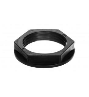 Nakrętka poliamidowa PG13 czarna N 13/H BK E03DK-02010200401