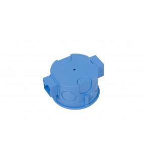 Puszka podtynkowa 60mm niebieska S 60K 34054203