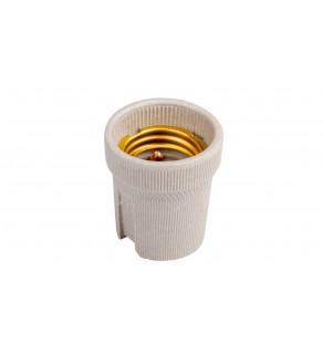 Oprawka E27 ceramiczna HLDR-E27 02160