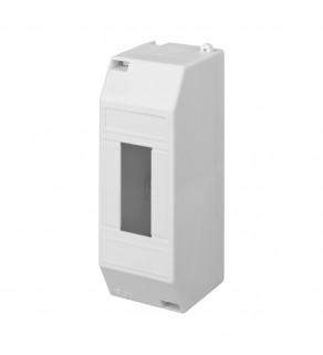 Rozdzielnia elektryczna modułowa 1x2 natynkowa z tworzywa sztucznego IP30 biała ELEKTRO-PLAST NASIELSK