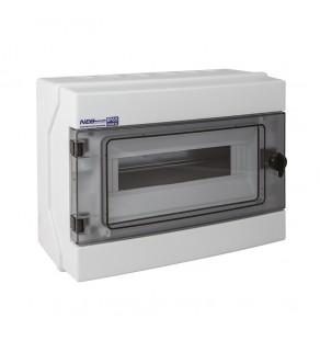 Rozdzielnia elektryczna modułowa 1x12 natynkowa z tworzywa sztucznego IP65 biała ELEKTRO-PLAST OPATÓWEK