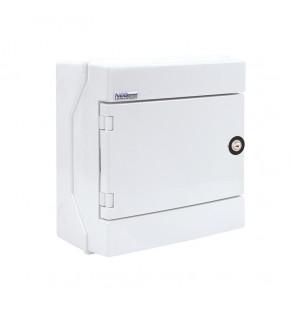 Rozdzielnia elektryczna modułowa 1x8 natynkowa z tworzywa sztucznego IP65 biała ELEKTRO-PLAST OPATÓWEK