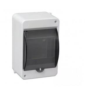 Rozdzielnia elektryczna modułowa 1x3 natynkowa z tworzywa sztucznego IP30 biała PAWBOL