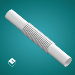 Złączka elastyczna ZCL 20 (biała)