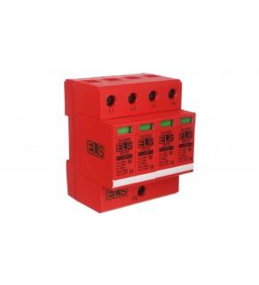 Ogranicznik przepięć B+C Typ 1+2 4P 275V 60kA 1,5kV EL30B+C Typ 1+2 4P 7,5kA