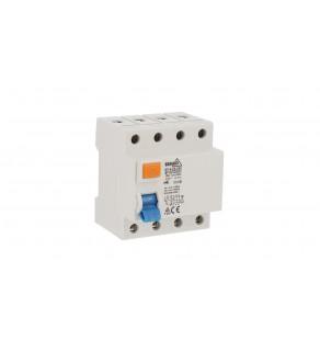 Wyłącznik różnicowoprądowy AC 4P 25A 30mA A05-N7-4-25-030