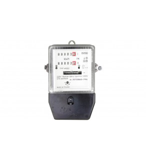 Licznik energii elektrycznej 1-fazowy II taryfowy A52c 10/40A 220V (regenerowany / legalizowany)