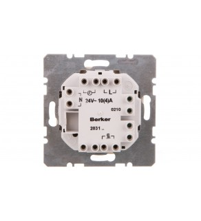 Regulator temperatury 24V 10A 5-30C IP20 biały 203109