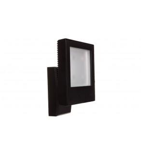 Kinkiet zewnętrzny LED 4W 210lm 4000K klosz szklany odbudowa z odlewango aluminium 100-240V LAMPRIX LP-14-084