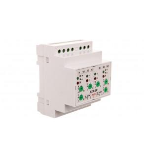 Sterownik samoczynnego załączania rezerwy z regulacją /+styk 2x1P 8A 250V/ SZR-2R