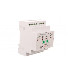 Sterownik samoczynnego załączania rezerwy /+styk 2x1P 8A 250V/ SZR-2