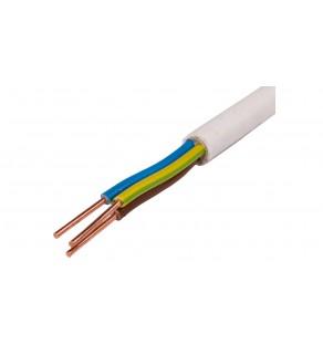 Przewód elektryczny YDY 3x6 żo 450/750V 25m