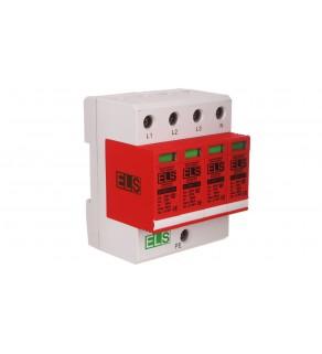 Ogranicznik przepięć B+C Typ 1+2 4P 275V 60kA 1,5kV EL30B+C Typ 1+2 VG 4P