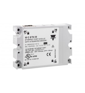 Moduł komunikacyjny Modbus TCP/IP (Ethernet) ze zintegrowaną pamięcią tylko do analizatora WM40 MCETHM